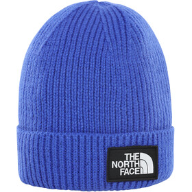 The North Face Box Logo Cuff Beanie Youth TNF blue